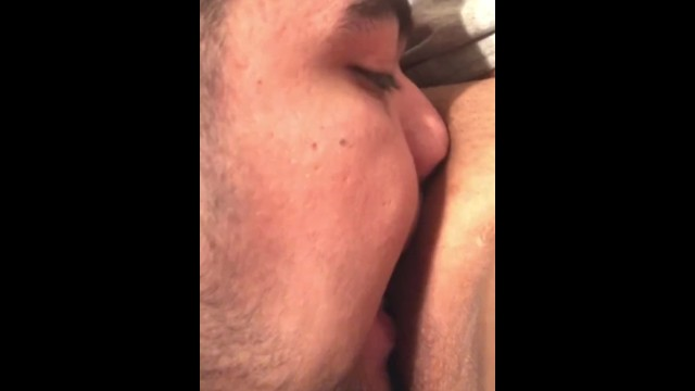 Step brother catches me masturbating sneaks up to eat creamy pussy 24