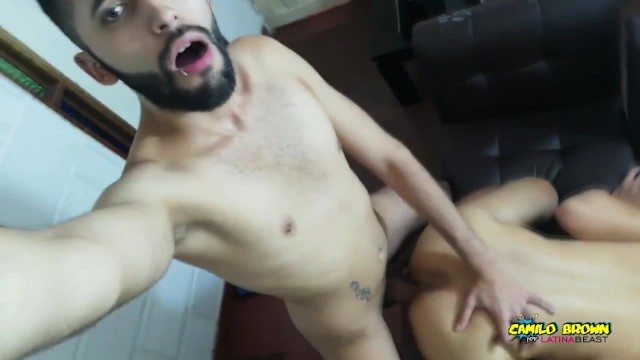 Young first time gay - My young friends first time taking my big uncut cock raw and this happened