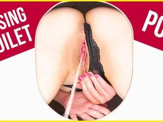 Pov toilet slave masturbation bottom...