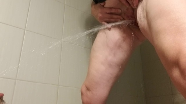 Pissing hard into my cuckolds mouth. Hes such a good boy he swallows it 5