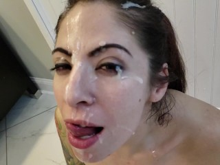 Huge Slow Motion Facial (28 Aug 2019)