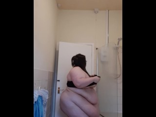 SSBBW SEXY FAT GIRL STRIP JIGGLE BELLY (28 Aug 2019)