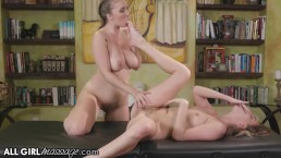 AllGirlMassage Licking My Hubby's Mistress, Lena Paul!