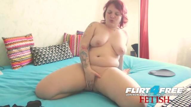 Linda Jolie on Flirt4Free Fetish - Chubby BDSM Babe w Nipple Clamps and Gag 6