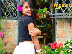 MamacitaZ - Petite Hot Latina Maria Antonia Alzate Picked Up To Ride a BBC