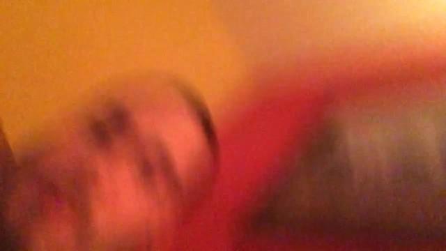 Redhead gags while giving deep throat 28