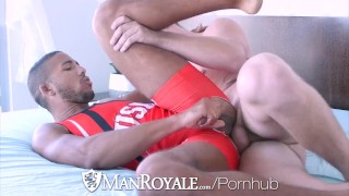 Manroyale Wrestler Goes For Gold With Athletic Hunk