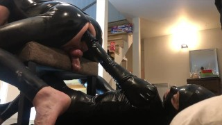 pREVIEW OF ANAL FISTING MY SLAVE BY LATEX MISTRESS SASHA