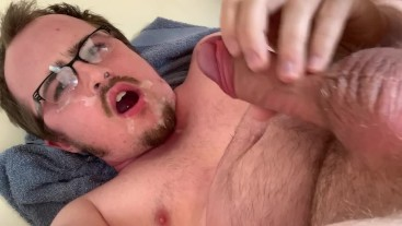 Gargling My Cum & Piss! Multiple Male Orgasms, First Time Tasting My Pee!