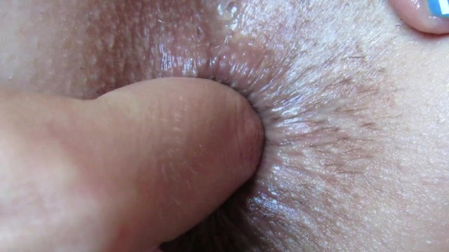 Up Close Anal Fingering