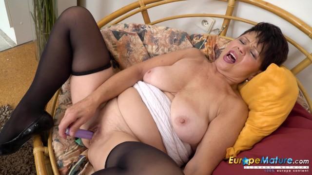 Masturbation;Toys;Mature;MILF;Solo Female old, mom, mature, granny, milf, solo, masturbation, toys, oldnanny, masturbate, adult-toys, mother, europemature