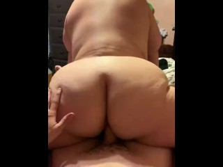 Babygirl rides my hard cock