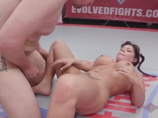 Jasmeen lafleur vs newcomer eric and winner fucks...