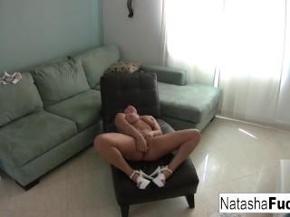 Natasha Nice enjoys a little alone time by herself