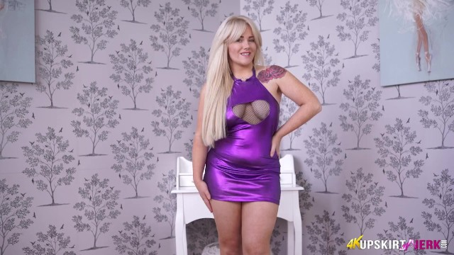 Check Out This Busty Babe In Slutty Dress, She Is Well Worth A Wank !! 20