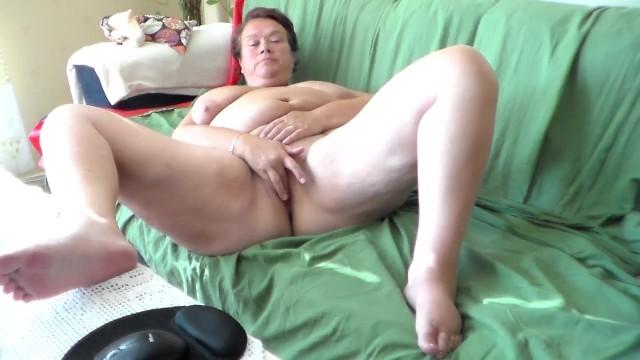 Jen is Masturbating on the Sofa 44