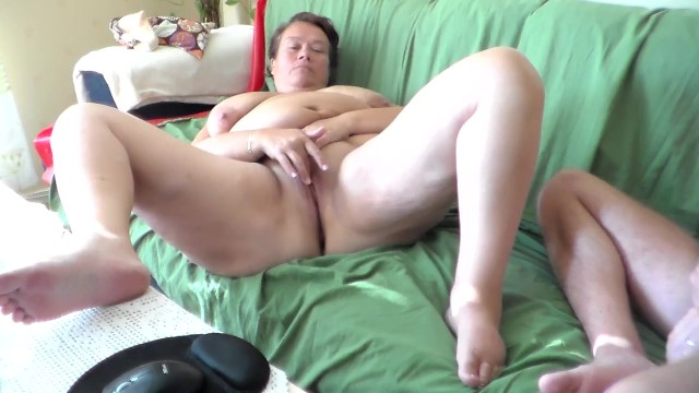 Jen is Masturbating on the Sofa 2