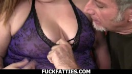 Fuck Fatties A Fat Cock To Match Sexy Fat Babe With With Big Boobs