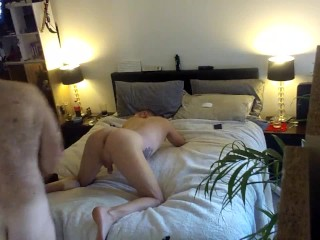 Daddy gives stepson a lesson in rimming...