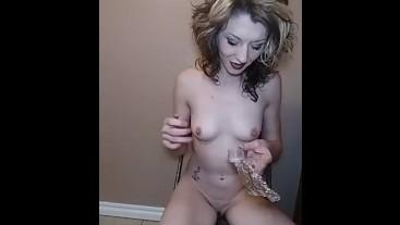 Sexy smoking fetish fun- high interactive full nude bubbly POV + feet play
