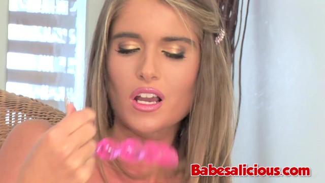 Babesalicious - Beauty babe Teen Nessa Devil Solo Fuck 47