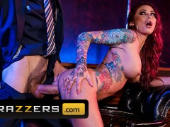 Brazzers - Big tit inked stipper Monique Alexander takes big dick