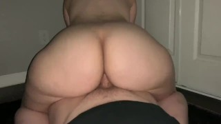 Pretty Young PAWG Makes Him Cum Twice!