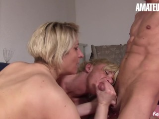 AmateurEuro – German Mature Sluts Share a Cock In The Afternoon