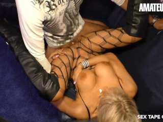 AmateurEuro – Super Hot German MILF Makes a SEX TAPE with Her STEP SON