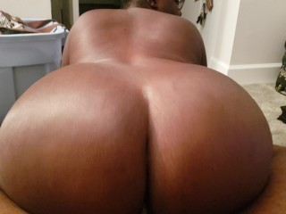 Bbw sneak riding dick while family is home...