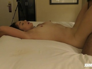 Full Scene Lebanese Girl Gets Mouth and Pussy Destroyed By Huge Cock