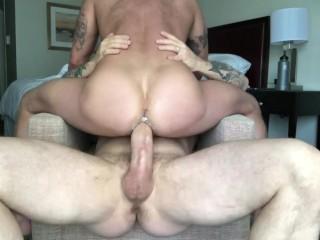 Sean harding milks rocco steeles with his hole...