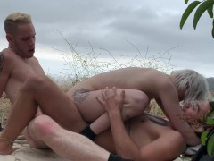 Bisexual threesome with Dante Colle, Wolf Hudson and Sammy Knox Part 3