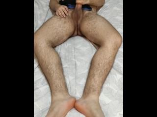 Cumming on fans underwear...