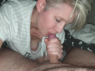 blowjob cum mouth