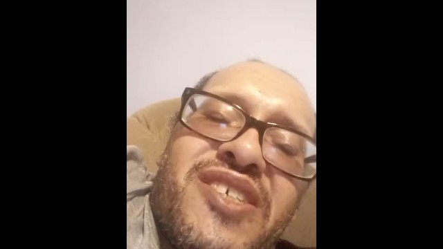 Have a vibrator deep inside his pussy