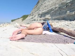 Naked naked masturbates...