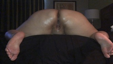 Anal and feet for over an hour straight...gotta love it