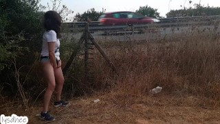 masturbation on the road