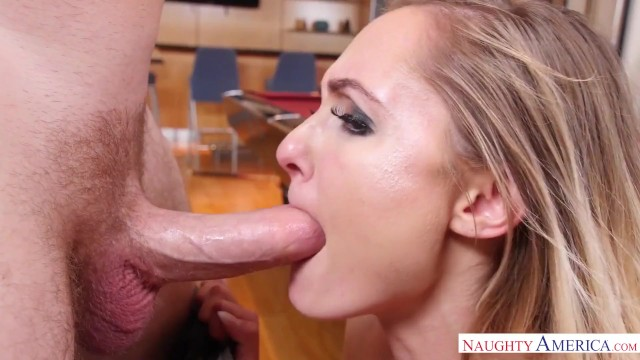 Naughty America Avalon Heart fucking in the pool table 16