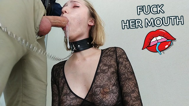 1 guy all girls sex Manager orders escort blonde to fuck her mouth hard