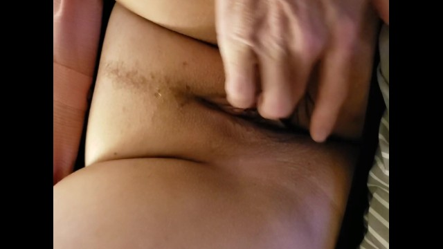 Hubby playing with my pussy ! 2