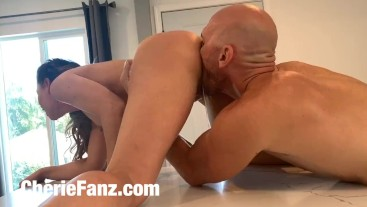 Cherie DeVille Surprises Johnny Sins at home