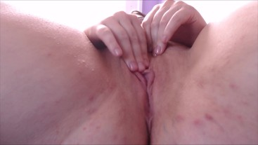 Up close fingering until I squirt