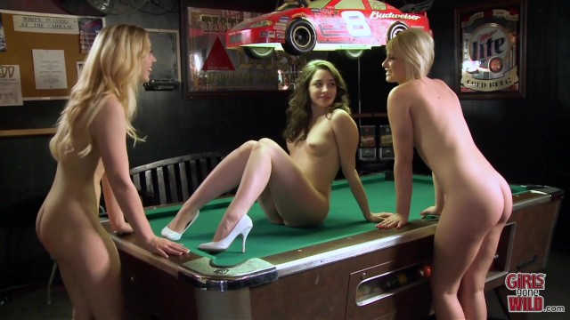 GIRLS GONE WILD - Teen Lesbians Letting Loose At A Bar 49