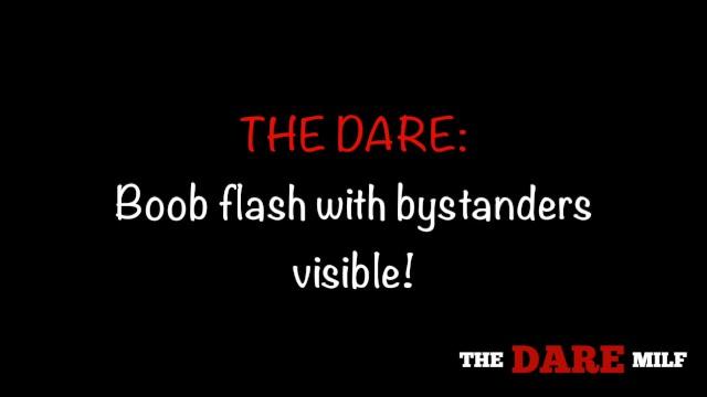 I got dared to flash some boob...hopefully the fisherman caught something. 6