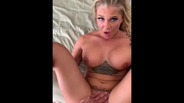 Tan blonde fitness mode Alison Avery gets banged in Pov for the first time