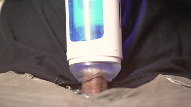 Straigt male sex Robot sex machine. robotic fleshlight. leten male sex toy blowjob machine