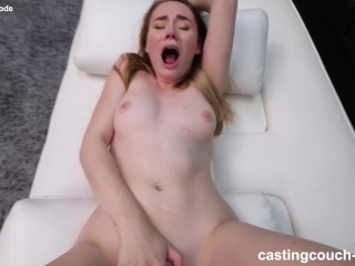 Girl Next Door Fucks Her First Black Guy and Lets Him Creampie Her