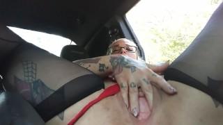 Masturbating in the Teacher car for an A #BackToSchool2019